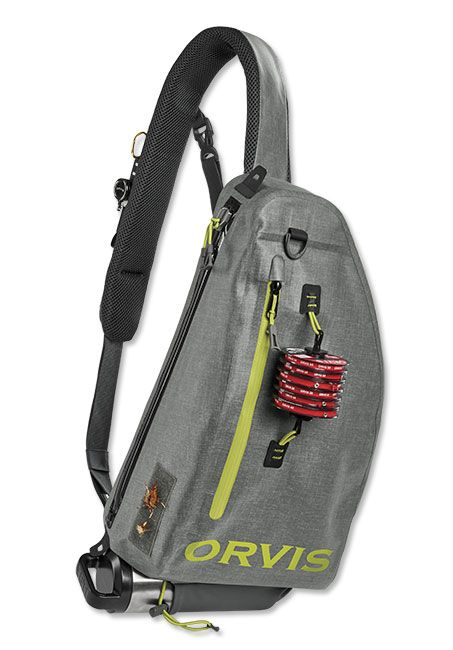 Orvis gale force waterproof sling pack for Fly fishing sling pack