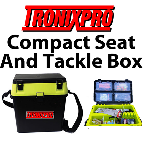 Tronixpro Compact Seat and Tackle Box
